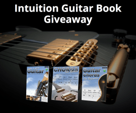 intuition guitar book giveaway