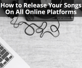 release your songs online
